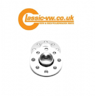 4x100 Wheel Spacers 20mm Hubcentric Silver